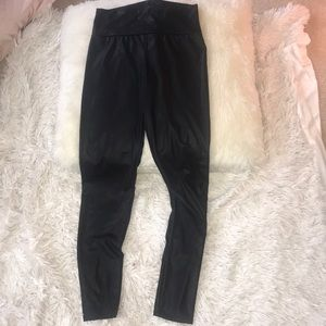 charlotte russe faux leather leggings!